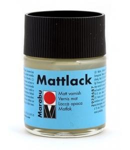 Лак финишный матовый на основе органических растворителей Marabu Mattlack, 50 мл