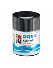 Лак глянцевый на водной основе Marabu Aqua Klarlack, 50 мл