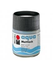 Лак матовый на водной основе Marabu Aqua Mattlack, 50 мл