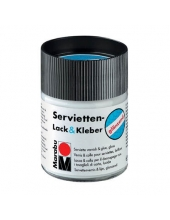 Лак-клей для салфеток Marabu Servietten Lack&Kleber 844 глянцевый, 50 мл