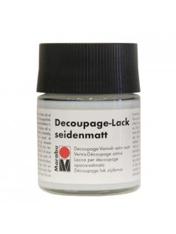 Лак для декупажа Marabu Decoupage Lackseidmatt 846 матовый, 50 мл