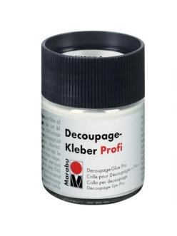 Клей для декупажа Marabu Decoupage Kleber Profi 848, 50 мл
