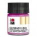 Краска с эффектом металла Colorado Gold 733  розовый, 50 мл, Marabu