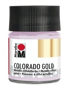 Краска с эффектом металла Colorado Gold 756 серебристо-лиловый, 50 мл, Marabu (Германия)