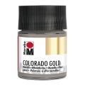 Краска с эффектом металла Colorado Gold 772 антрацит мерцающий, 50 мл, Marabu (Германия)