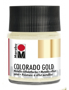 Краска с эффектом металла Colorado Gold 781 античное серебро, 50 мл, Marabu (Германия)