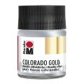 Краска с эффектом металла Colorado Gold 782 серебро, 50 мл, Marabu (Германия)