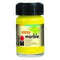 Краска для марморирования Easy Marble Marabu 020 лимонный, 15мл