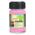 Краска для марморирования Easy Marble Marabu 033 розовый, 15мл