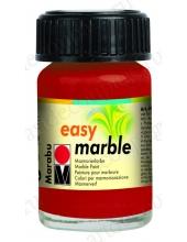 Краска для марморирования Easy Marble Marabu 038 рубиновый, 15мл