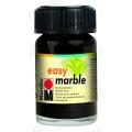 Краска для марморирования Easy Marble Marabu 073 черный, 15мл