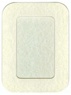 Декоративное паспарту, форма прямоугольная, цвет мраморный бледный, 19,5-14,5 см