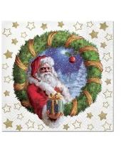 "Салфетка для декупажа ""Подарок от Деда Мороза"", 33х33 см, Paw (Польша)"