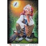 "Рисовая бумага R-A5-0696 ""Баба Яга"", формат А5, ProArt (Россия)"
