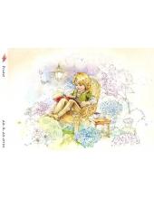 """Рисовая бумага R-A5-0751 """"Маленький принц"""", формат А5, ProArt (Россия)"""