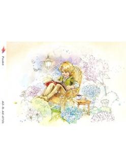 Рисовая бумага для декупажа Маленький принц, формат А5, ProArt