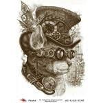 "Рисовая бумага R-A5-1248 ""В стиле стимпанк"", формат А5, ProArt (Россия)"