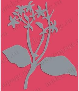 """Трафарет-маска """"Летние цветы"""",15х22,5 см, PRONTY (Нидерланды)"""