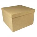 Заготовка коробка квадратная из картона, 15,5х15,5х10,5 см, Rayher (Германия)