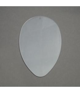 Заготовка перегородка для яйца 12 см, прозрачный пластик