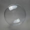 Заготовка ёлочный Шар, прозрачный пластик, 12 см