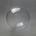 Заготовка ёлочный Шар, прозрачный пластик, 6 см