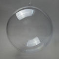 Заготовка ёлочный Шар, прозрачный пластик, 16 см