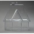 Заготовка фигурка Домик для саше, прозрачный пластик, 10 см