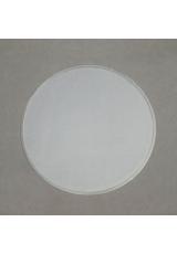 Заготовка перегородка для шара 8 см, прозрачный пластик