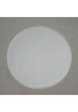 Заготовка перегородка для шара 12 см, прозрачный пластик, Германия