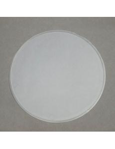Заготовка перегородка для шара 10 см, прозрачный пластик