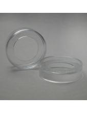 Заготовка подставка под ёлочный шар 8-20 см, прозрачный пластик, Германия