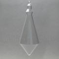 Заготовка фигурка Поплавок, прозрачный пластик, 14 см