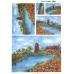 Рисовая бумага для декупажа Пейзаж с мельницей, 35х50 см, Renkalik