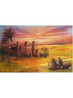 Рисовая бумага для декупажа Африка, Агадир, старая крепость, 35х50 см, Renkalik