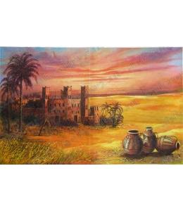 Рисовая бумага для декупажа Renkalik Африка. Агадир, старая крепость , 35х50 см