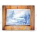 Рисовая бумага для декупажа Зимний пейзаж, олени, 33х48 см, Stamperia