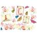 """Рисовая бумага для декупажа Stamperia DFS053 """"Орхидеи, бабочки"""", 33x48 см"""
