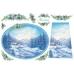 Рисовая бумага для декупажа Stamperia DFS069 Зима, 33х48 см
