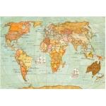 """Рисовая бумага для декупажа Stamperia DFS100 """"Карта мира"""", 33x48 см"""