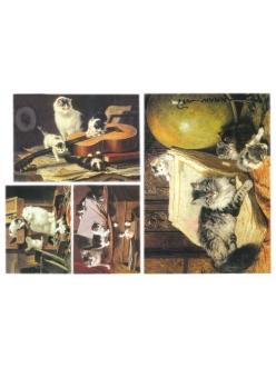 Рисовая бумага для декупажа Кошки, 33x48 см, Stamperia