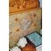 Рисовая бумага для декупажа Орнамент Rococo серо-голубой, 33х48 см, Stamperia