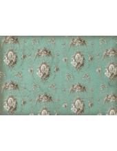 "Рисовая бумага для декупажа Stamperia DFS181 ""Орнамент Rococo"" серо-голубой, 33х48 см"