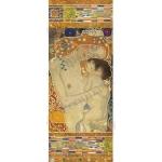 """Рисовая бумага с золотом Stamperia DFS254LG """"Мать и дитя, Климт"""", 60x24 см"""