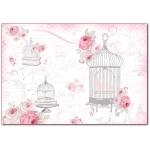 """Рисовая бумага для декупажа Stamperia DFS296 """"В розовом цвете"""", 33x48 см"""