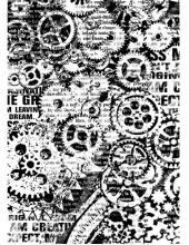 "Рисовая бумага для декупажа Stamperia DFSA4171 ""Механизмы"", формат А4"