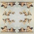 "Рисовая салфетка для декупажа Stamperia DFT011 ""Ангелы Рафаэля"", 50х50 см"