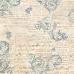 Рисовая салфетка для декупажа Ноты и орнамент Stamperia DFT195, 50х50 см
