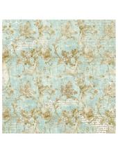 """Рисовая салфетка для декупажа """"Волшебная страна, золотой орнамент"""", 50х50 см, Stamperia DFT337"""