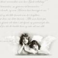"""Салфетка для декупажа SVD2053 """"Письмо и ангелы"""", 33х33 см, Sagen Vintage Design, Норвегия"""